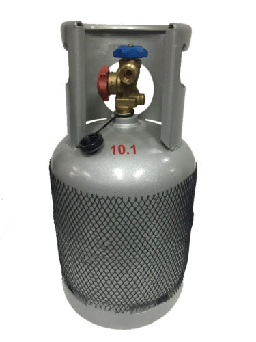 RECLAIM RECOVERY CYLINDER BOTTLE TANK FOR HYDROCARBON REFRIGERANT GAS 10KG-12KG <br/> Australian Standard Work Cover Approved For ARC License