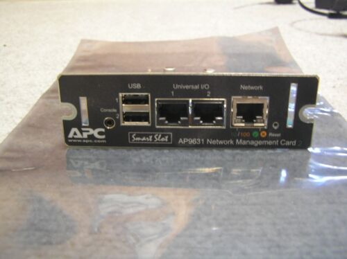 APC AP9631 UPS 10/100Mbps Network Management Card