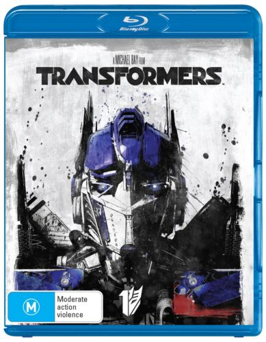 Transformers Blu-ray Region B NEW