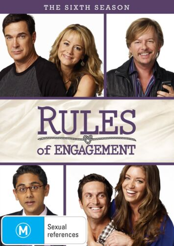 Rules of Engagement The Sixth Season 6 Series Six DVD Region 4 NEW
