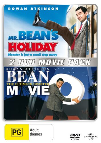 Mr Beans Holiday / Bean The Ultimate Disaster Movie DVD Region 4 NEW