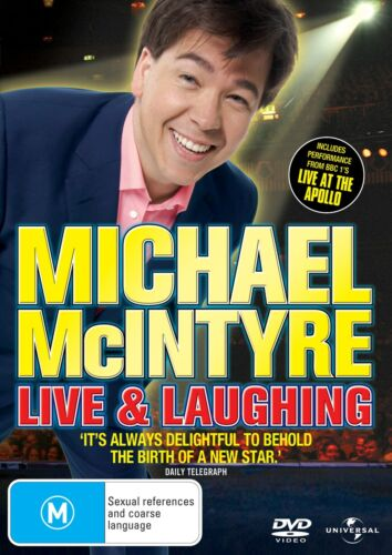 Michael McIntyre Live and Laughing DVD Region 4 NEW