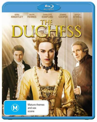 The Duchess Blu-ray Region B NEW