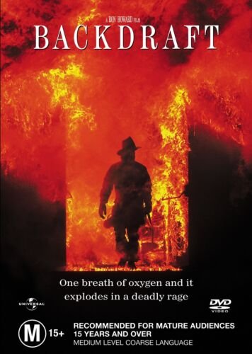 Backdraft DVD Region 4 NEW