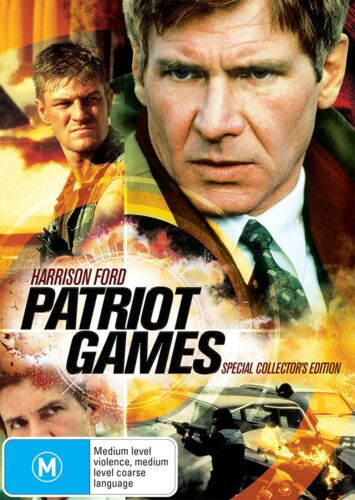 Patriot Games DVD Region 4 NEW