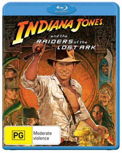 Indiana Jones and the Raiders of the Lost Ark Blu-ray Region B NEW
