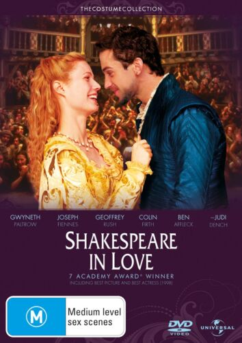 Shakespeare in Love DVD Region 4 NEW