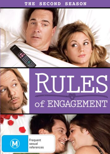 Rules of Engagement The Second Season 2 Series Two DVD Region 4 NEW