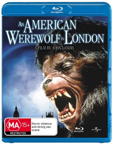 An American Werewolf in London Blu-ray Region B NEW