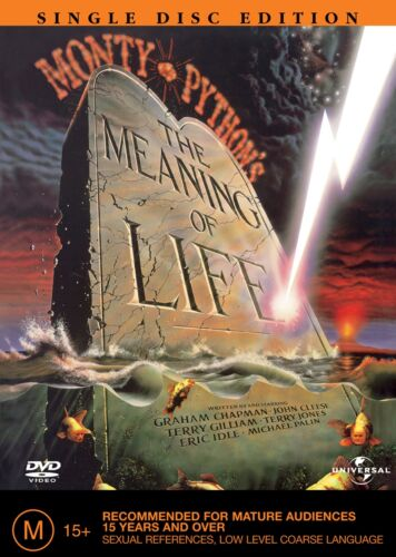 Monty Pythons the Meaning of Life DVD Region 4 NEW