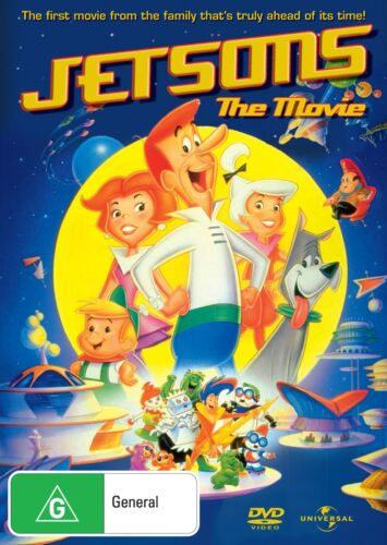 Jetsons The Movie DVD Region 4 NEW