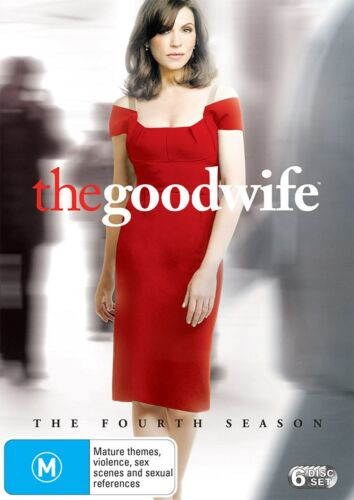 The Good Wife Season 4 Series Four DVD Region 4 NEW