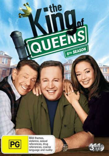The King of Queens 6th Season DVD Region 4 NEW