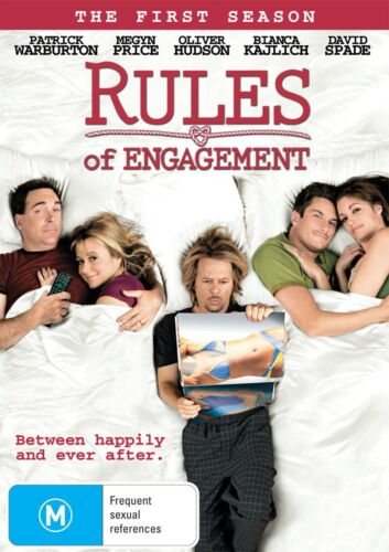 Rules of Engagement The First Season 1 DVD Region 4 NEW
