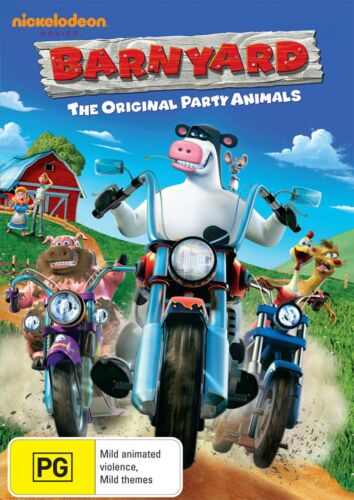 Barnyard DVD Region 4 NEW