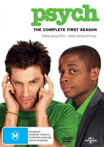 Psych The Complete First Season 1 Series OneDVD Region 4 NEW