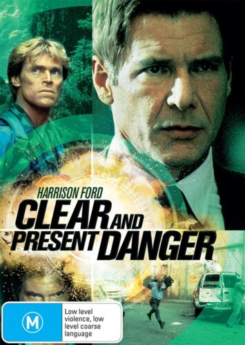Clear and Present Danger DVD Region 4 NEW