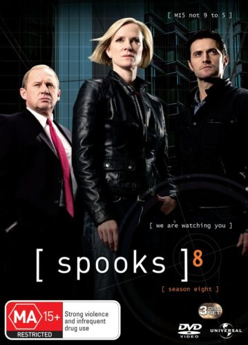 Spooks The Complete Season 8 DVD Region 4 NEW