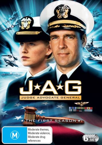 JAG The Complete First Season 1 Series OneDVD Region 4 NEW