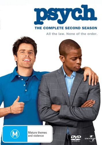 Psych The Complete Second Season 2 Series Two DVD Region 4 NEW