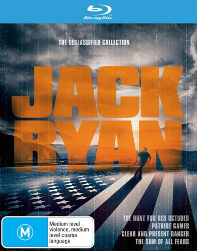 The Jack Ryan Collection Blu-ray Region B NEW