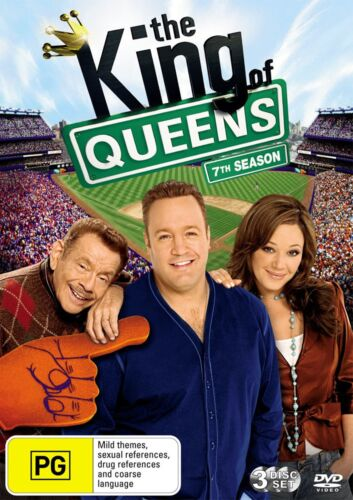 The King of Queens 7th Season DVD Region 4 NEW