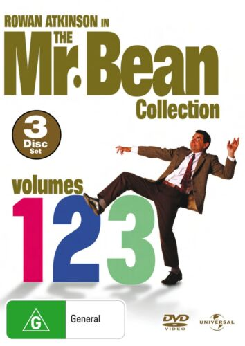 Mr Bean Series 1 Volumes 1 4 DVD Region 4 NEW