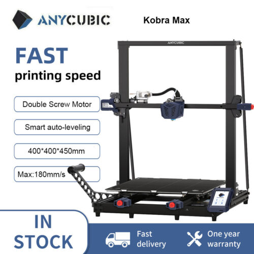 AU Stock ANYCUBIC 3D Printer I3 Mega Upgrade DIY Metal Frame with PLA Filament