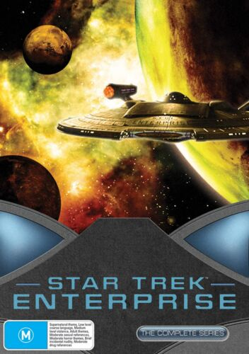 Star Trek Enterprise The Complete Collection DVD Region 4 NEW
