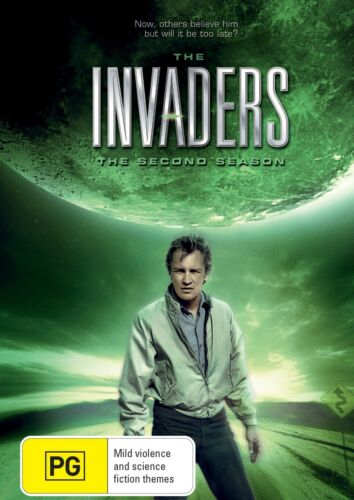 The Invaders The Second Season 2 Series Two DVD Region 4 NEW