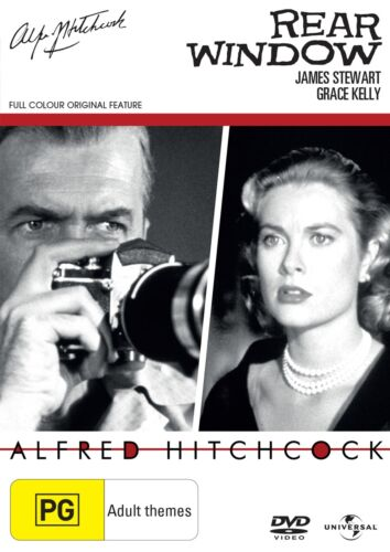 Rear Window DVD Region 4 NEW