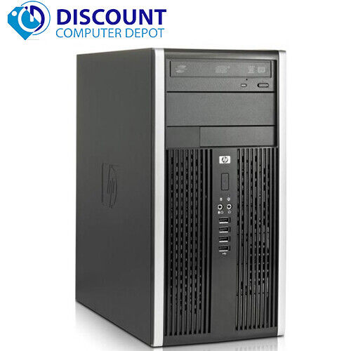 Fast HP Pro 3500 Desktop Computer Tower Core i3-2100 3.1GHz 4GB 320GB Win10 Home