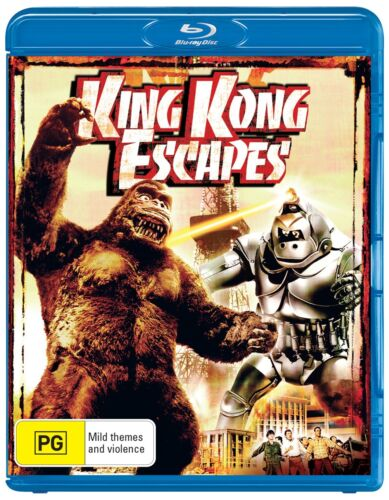 King Kong Escapes Blu-ray Region B NEW