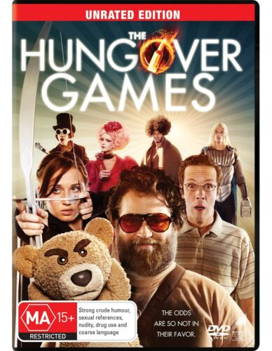 The Hungover Games DVD Region 4 NEW