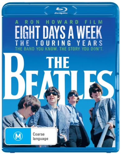 The Beatles Eight Days a Week The Touring Years Blu-ray Region B NEW
