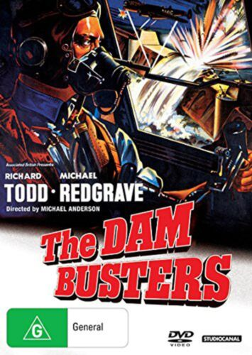 The Dam Busters DVD Region 4 NEW