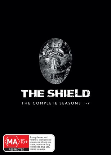 The Shield The Complete Seasons 1 7 DVD Region 4 NEW