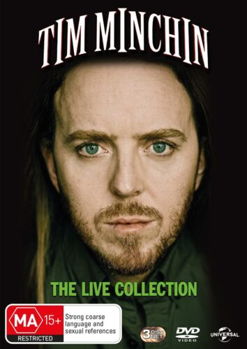 Tim Minchin The Live Collection DVD Region 4 NEW
