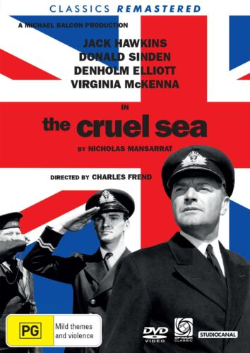 The Cruel Sea DVD Region 4 NEW