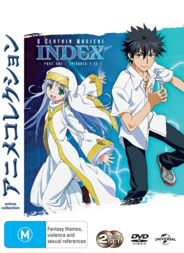 A Certain Magical Index Part 1 DVD Region 4 NEW