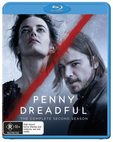 Penny Dreadful The Complete Second Season 2 Series Two Blu-ray Region B NEW