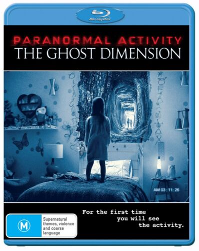 Paranormal Activity The Ghost Dimension Blu-ray Region B NEW