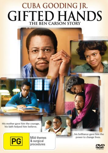 Gifted Hands The Ben Carson Story DVD Region 4 NEW