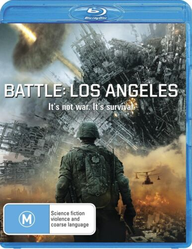 Battle Los Angeles Blu-ray Region B NEW