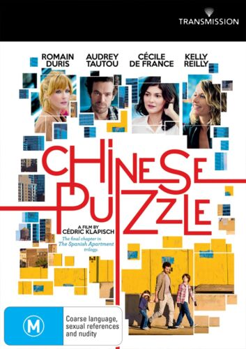 Chinese Puzzle DVD Region 4 NEW