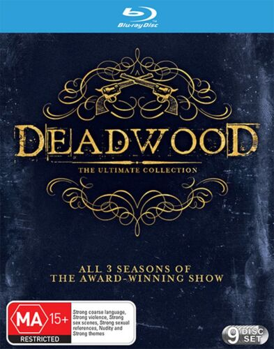Deadwood The Ultimate Collection Blu-ray Region B NEW