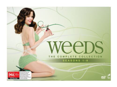 Weeds The Complete Collection Seasons 1 8 DVD Region 4 NEW