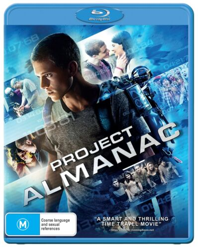 Project Almanac Blu-ray Region B NEW