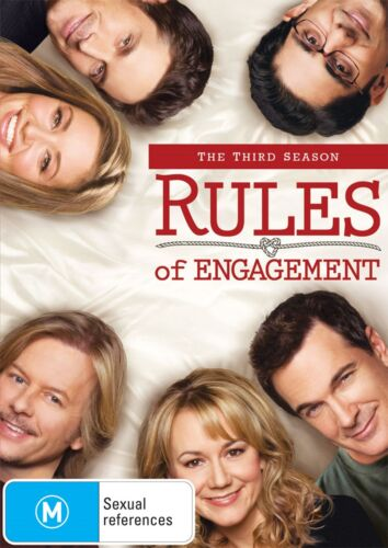 Rules of Engagement The Third Season 3 DVD Region 4 NEW
