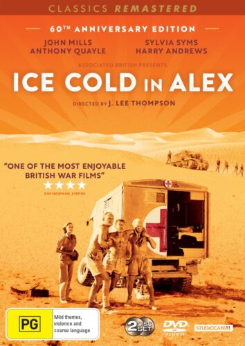 Ice Cold in Alex DVD Region 4 NEW
